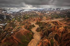 Rhyolite Hills - Iceland by Bakisto