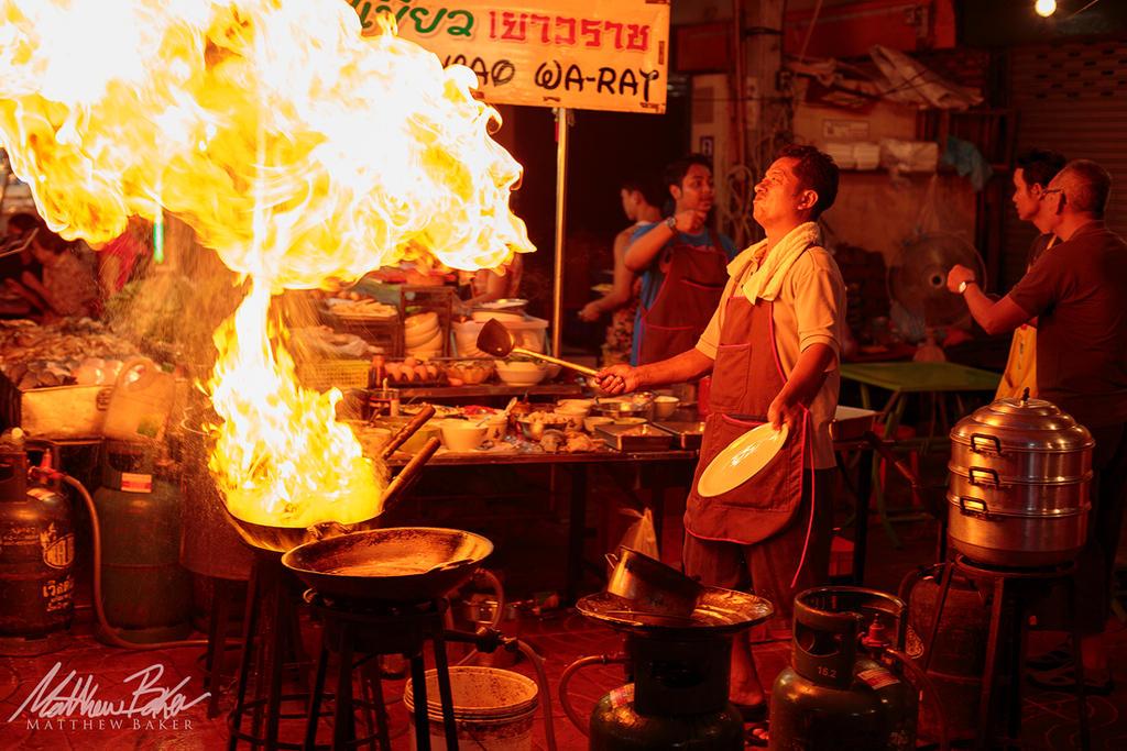 Burn, Baby Bangkok - Thailand by Bakisto
