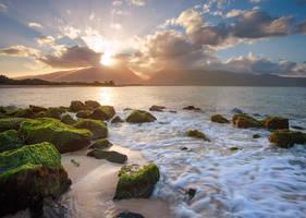 The Isle of Maui by Bakisto