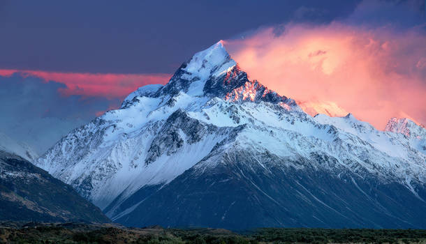 New Zealand - Mt. Cook / Aoraki Sunrise