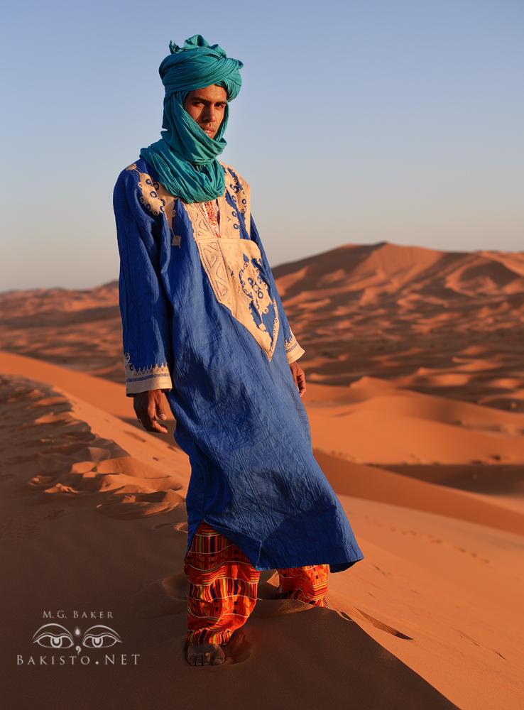 Sahara Nomad - Morocco. Berber Tribe by Bakisto