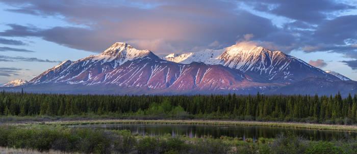 Yukon Sunrise, Canada