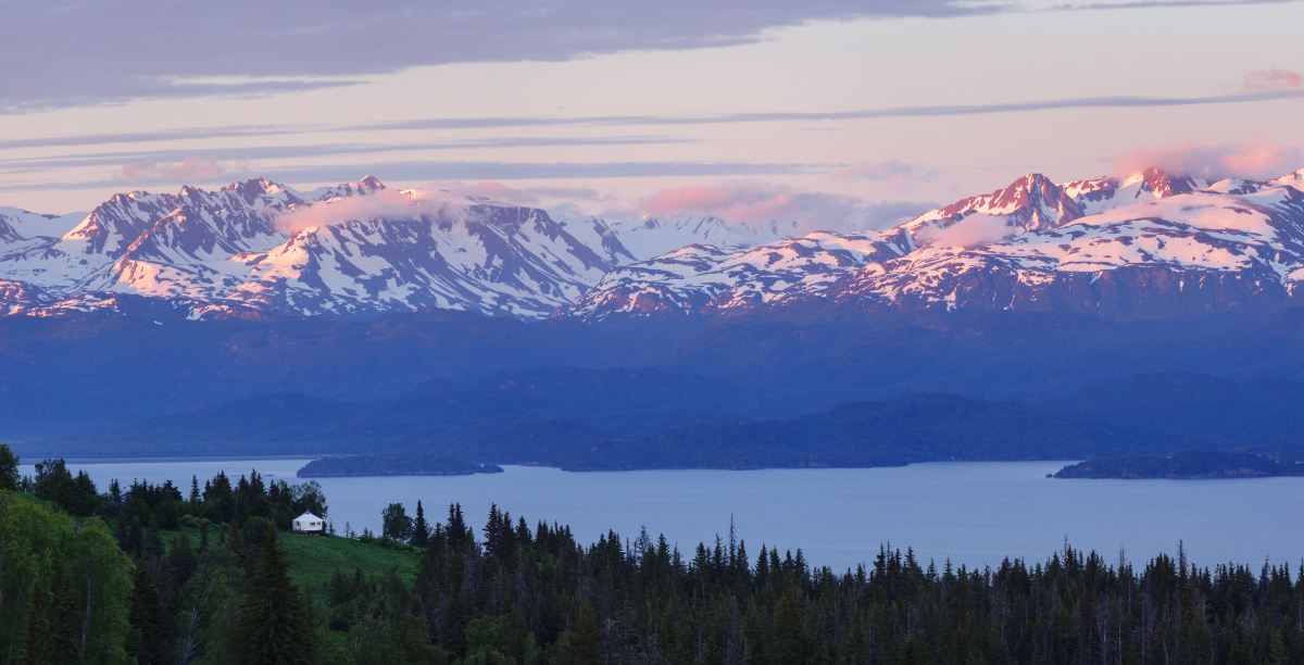 Katchemak Bay, Homer, Alaska by Bakisto
