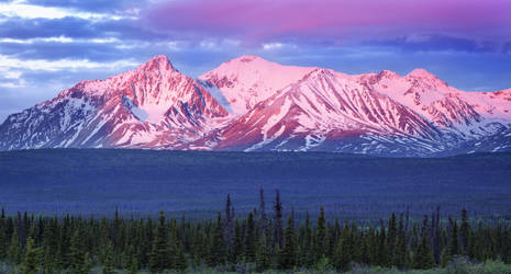 Yukon Sunrise - Canada