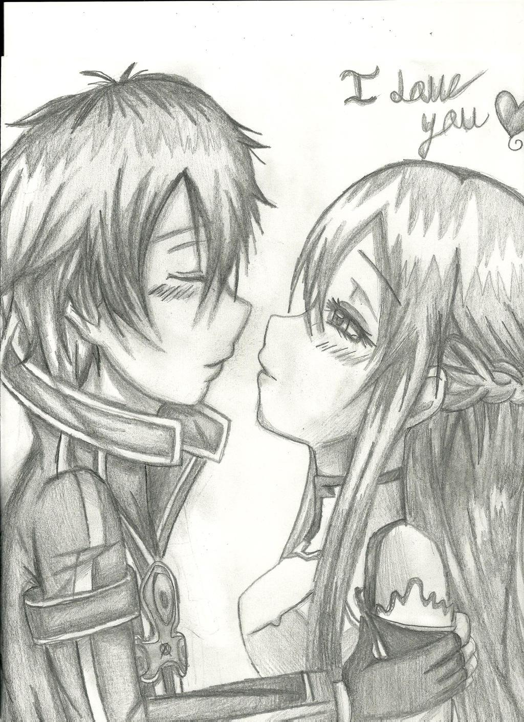 Kirito And Asuna Sword Art Online By Liamenietowlove On