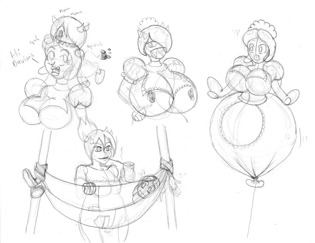 Random TF Sketching 2 by bouncymischa
