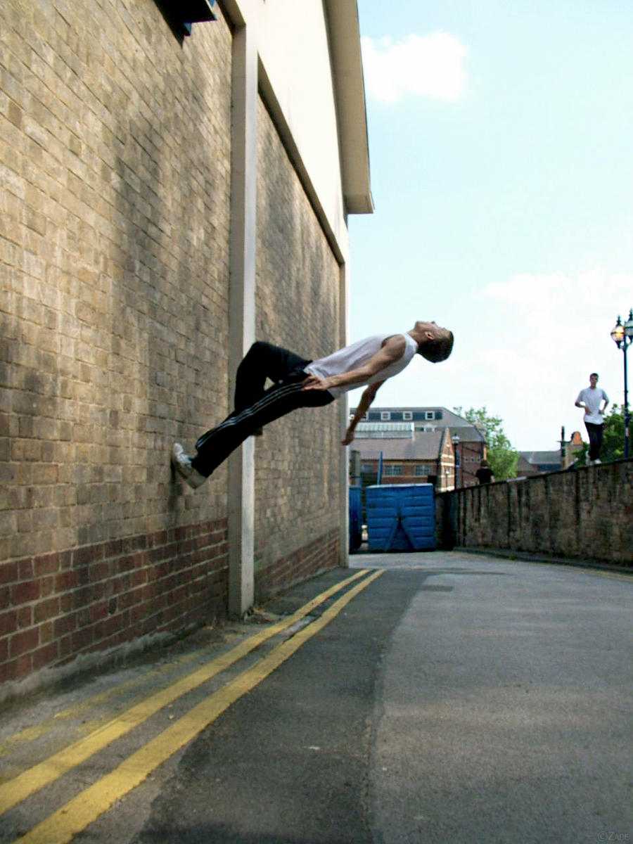 parkour wall flip - photo #31
