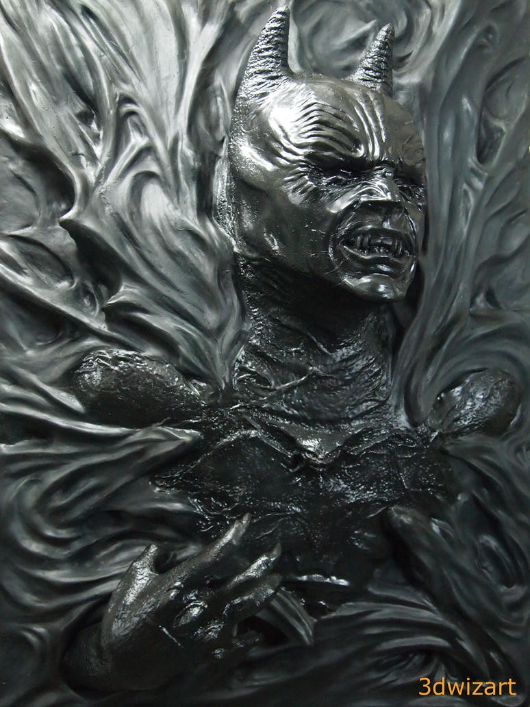 Batman Demon 1 By Fuvl On Deviantart