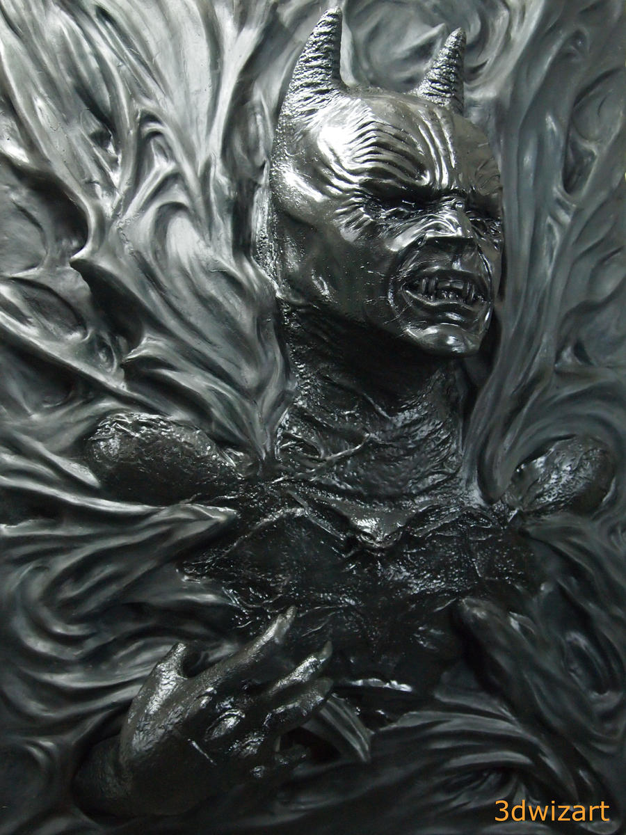 Demon Batman by FUVL on DeviantArt
