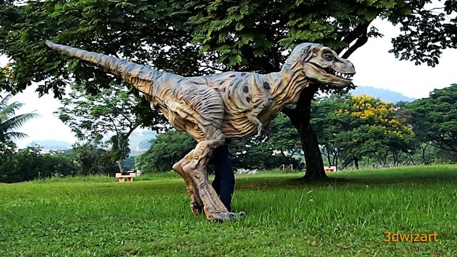 Baby Tyrannosaurus Rex Mascot Costume 1 by FUVL