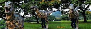Baby Tyrannosaurus Rex Mascot Costume 2
