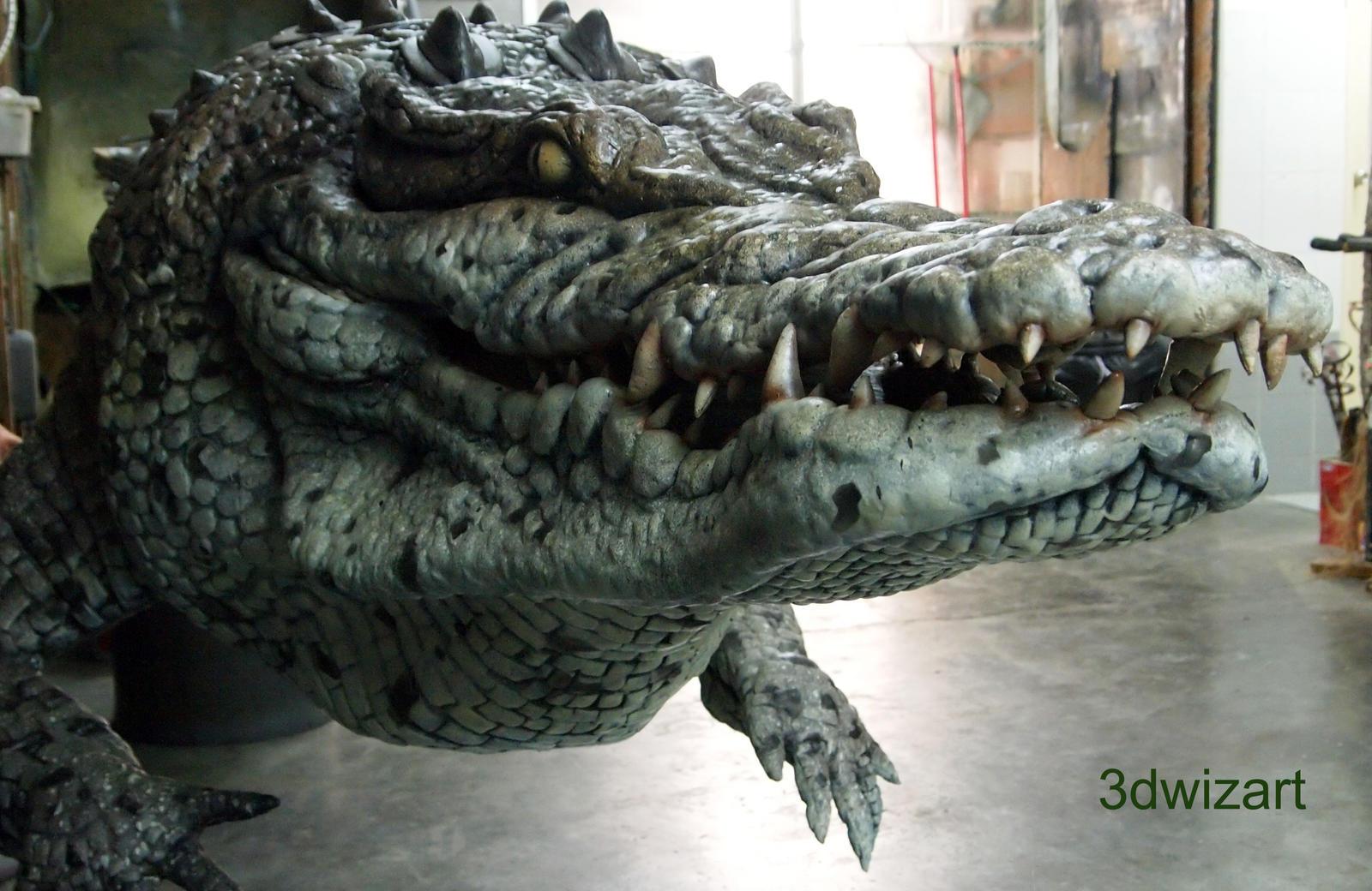 The Legendary Crocodile WIP by FUVL