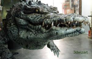 The Legendary Crocodile WIP