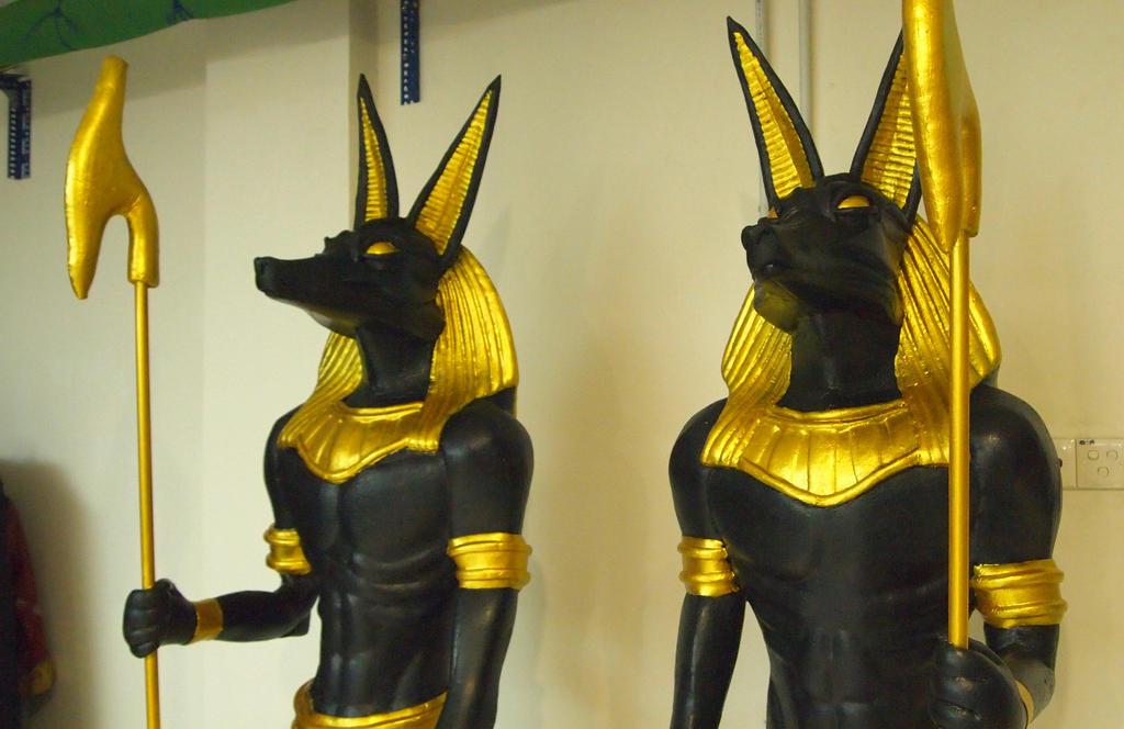 Anubis - God of Death by FUVL