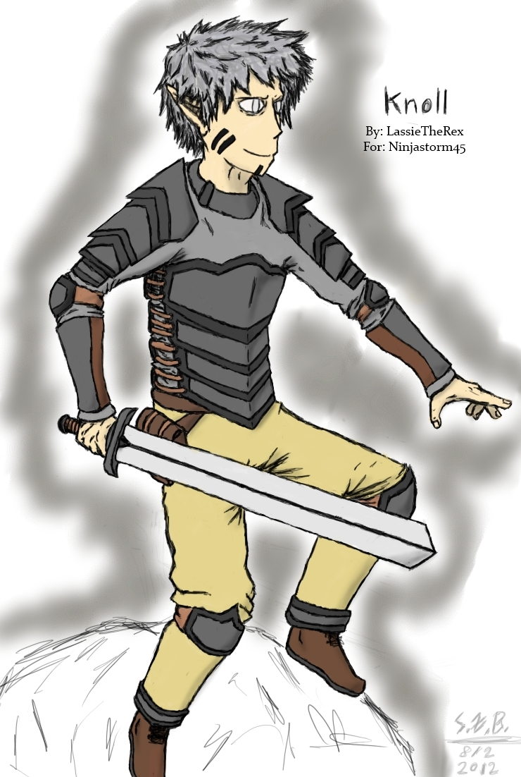 Knoll, for Ninjastorm45 by LassieTheRex