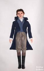 Mr. Darcy ooak art doll by LilliamSlasher