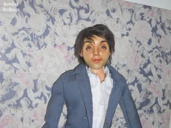 Paul McCartney ooak Art Doll by LilliamSlasher