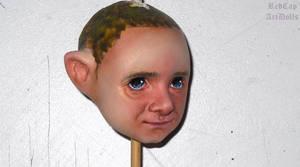 Painting Bilbo...