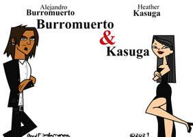 Burromuerto and Kasuga by ELCORZO2001