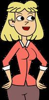 Rita Loud (Total Drama Style) by ELCORZO2001