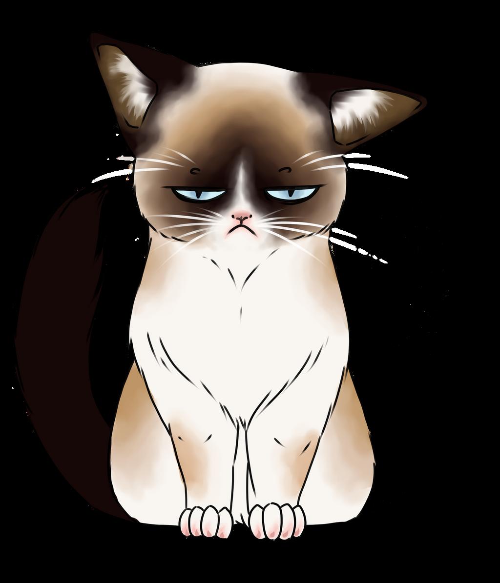 Grumpy Cat Face Drawing | www.imgkid.com - The Image Kid ...