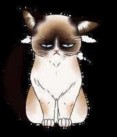 Grumpy Cat by Yurikine