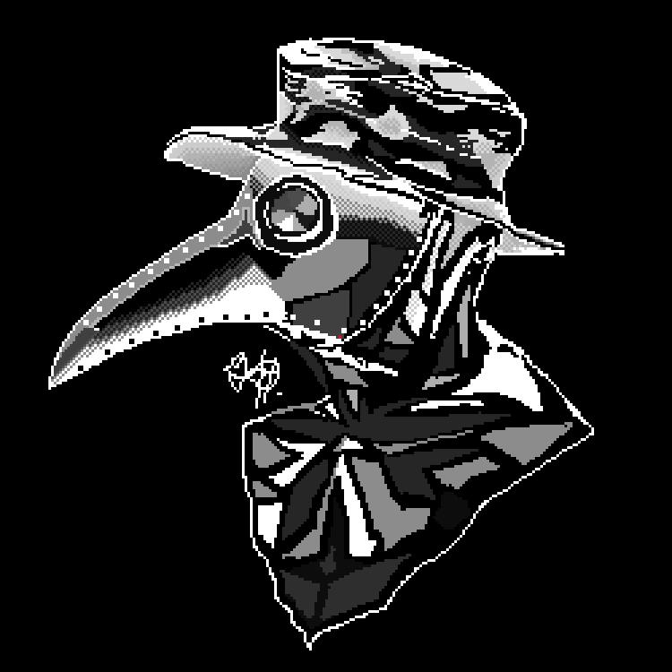 Plague Doctor by qmffnaowlr