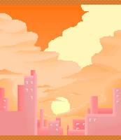 sunset by qmffnaowlr