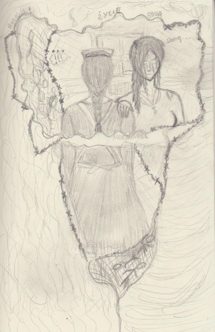Cienka linia by CesiaMargit