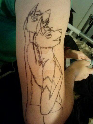 arm love by Animedevildeman