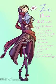 Zethra e la sua gallina