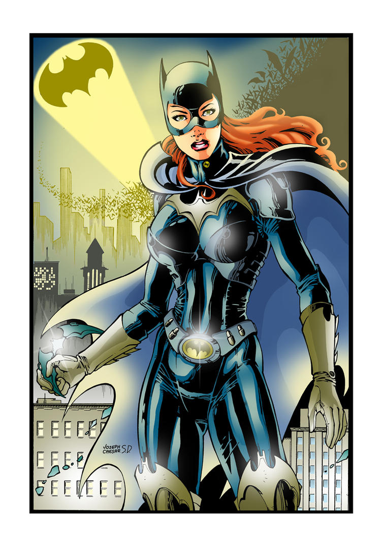 Batgirl Color by carloslima