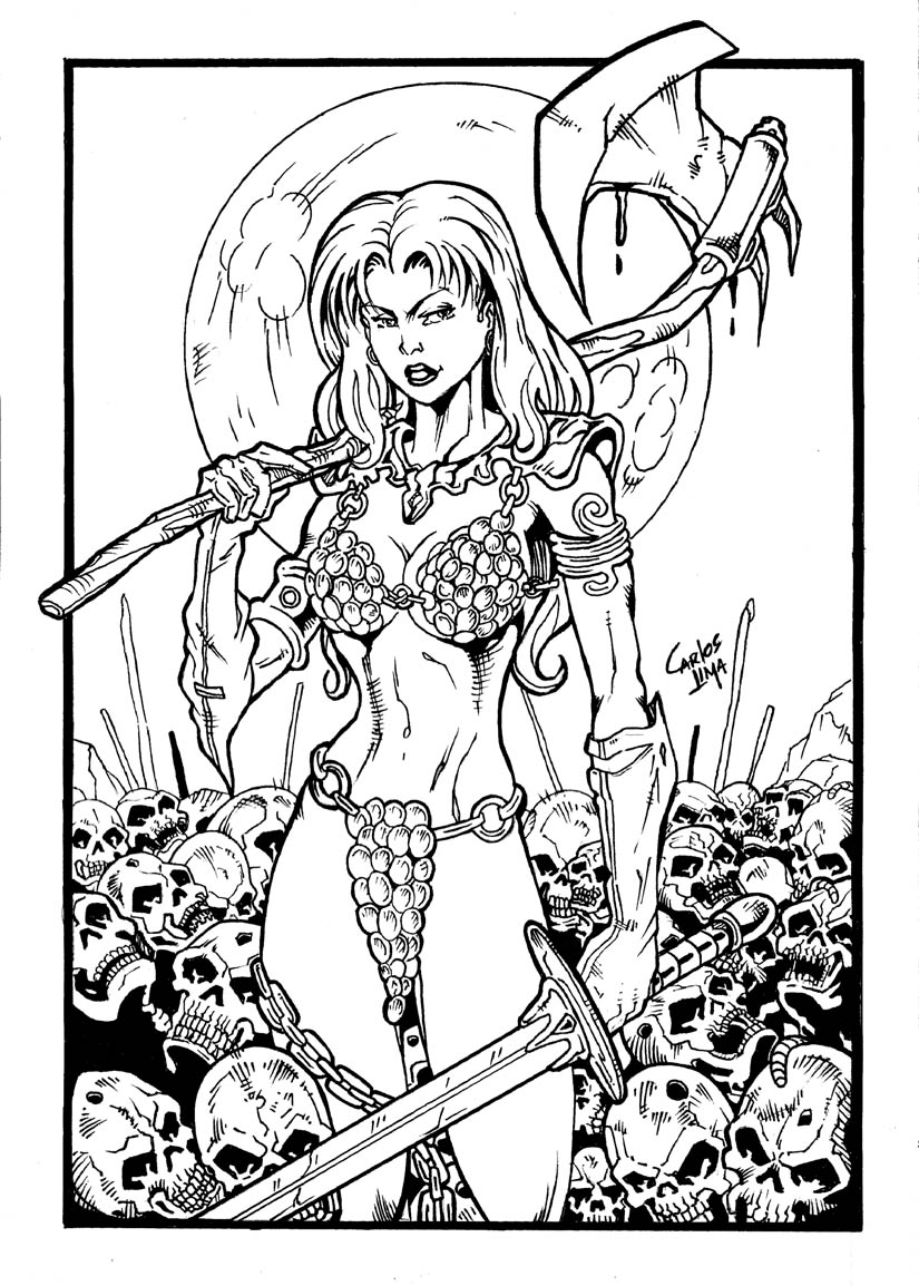 Sonja Inks by carloslima