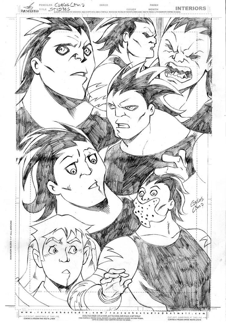 Faces studies by carloslima