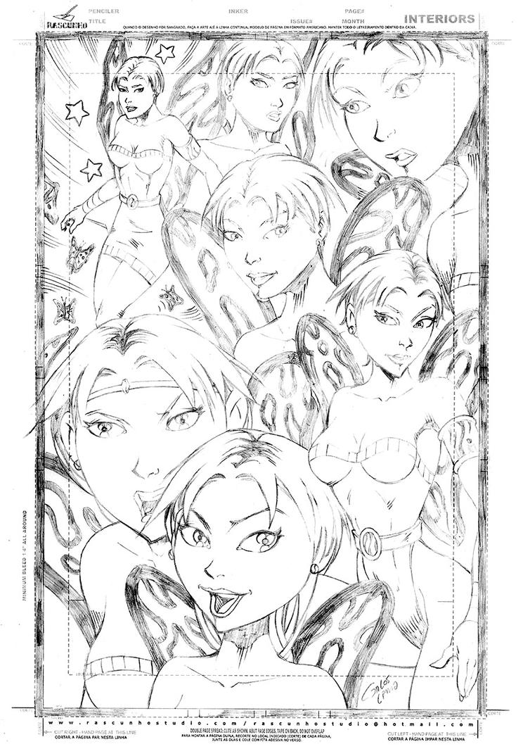 Fairies Pencil by carloslima