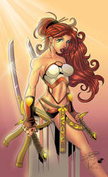 Ryan Downing S Blade Dancer Color by carloslima