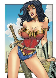 Wonder Woman Color Carloslima
