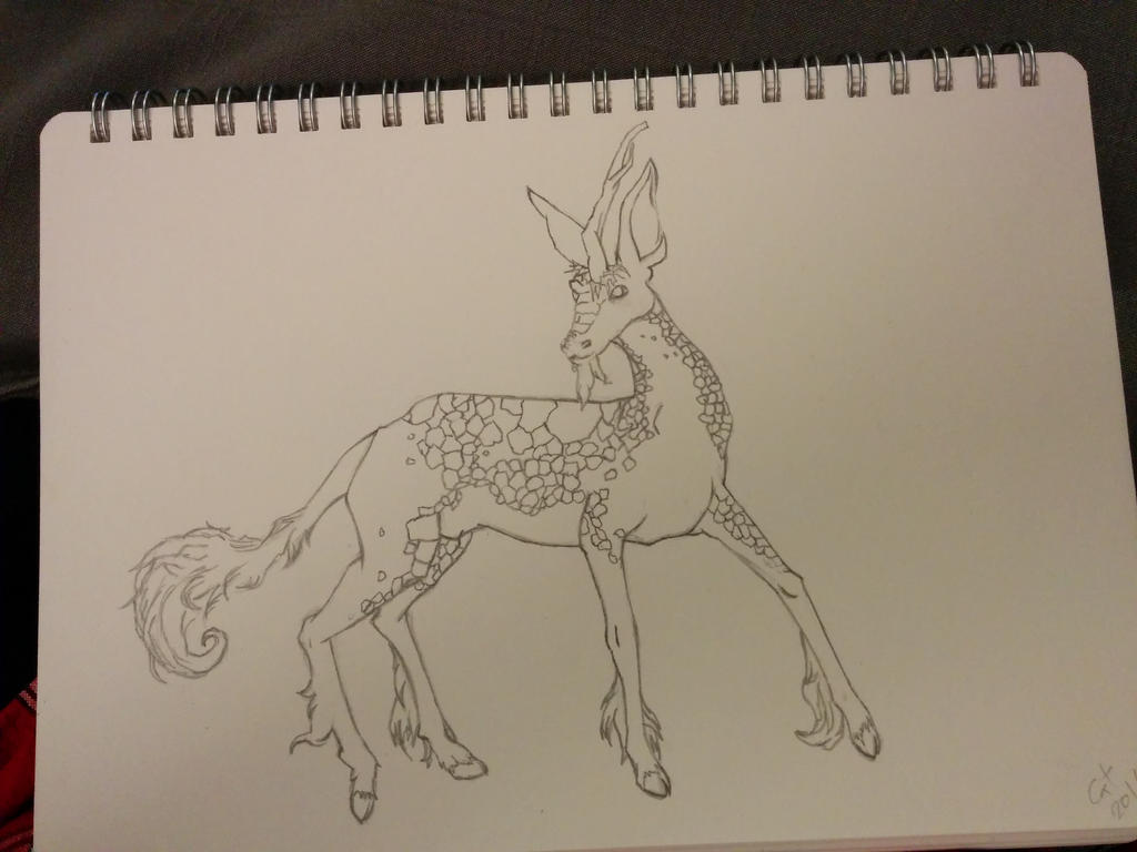 Bambi's all grown up - WIP1 by shamlieth