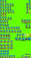 Classic Advance Sonic sprite sheet