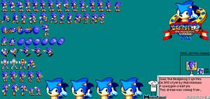 Sonic 3 Master System Sprites by Hidrogeniuns