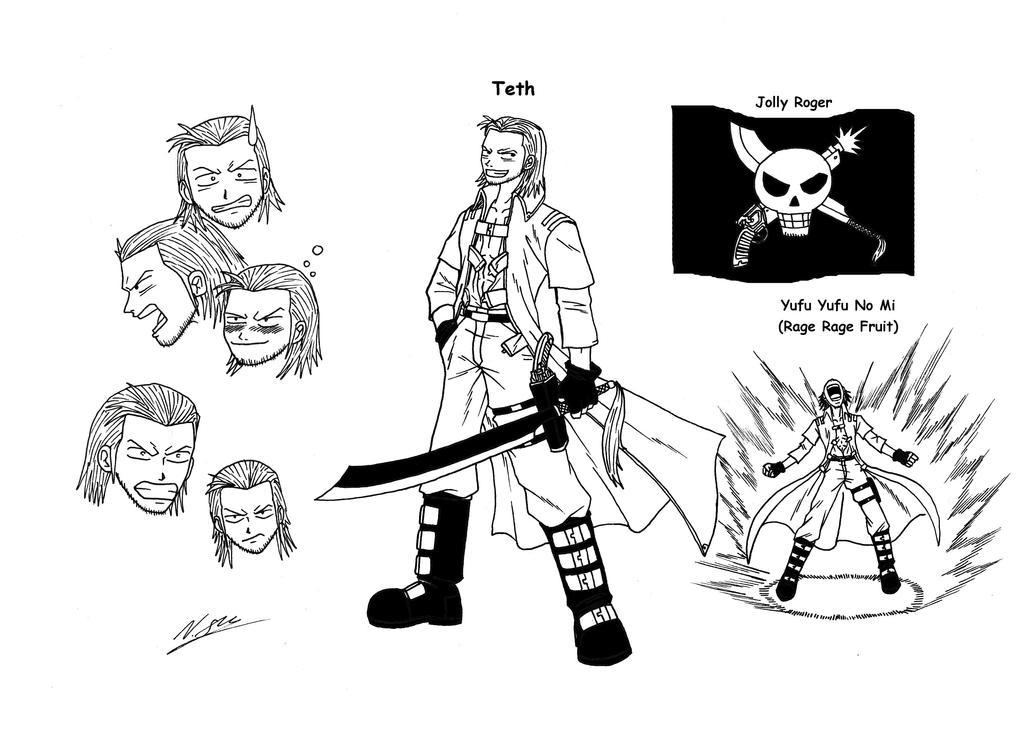 One Piece OC Teth by taresh