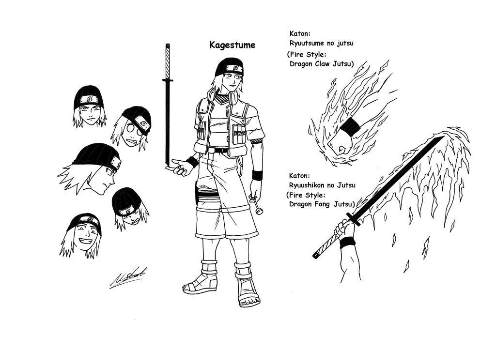 Nauro OC Kagetsume by taresh