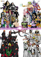 DBON: Villains by taresh