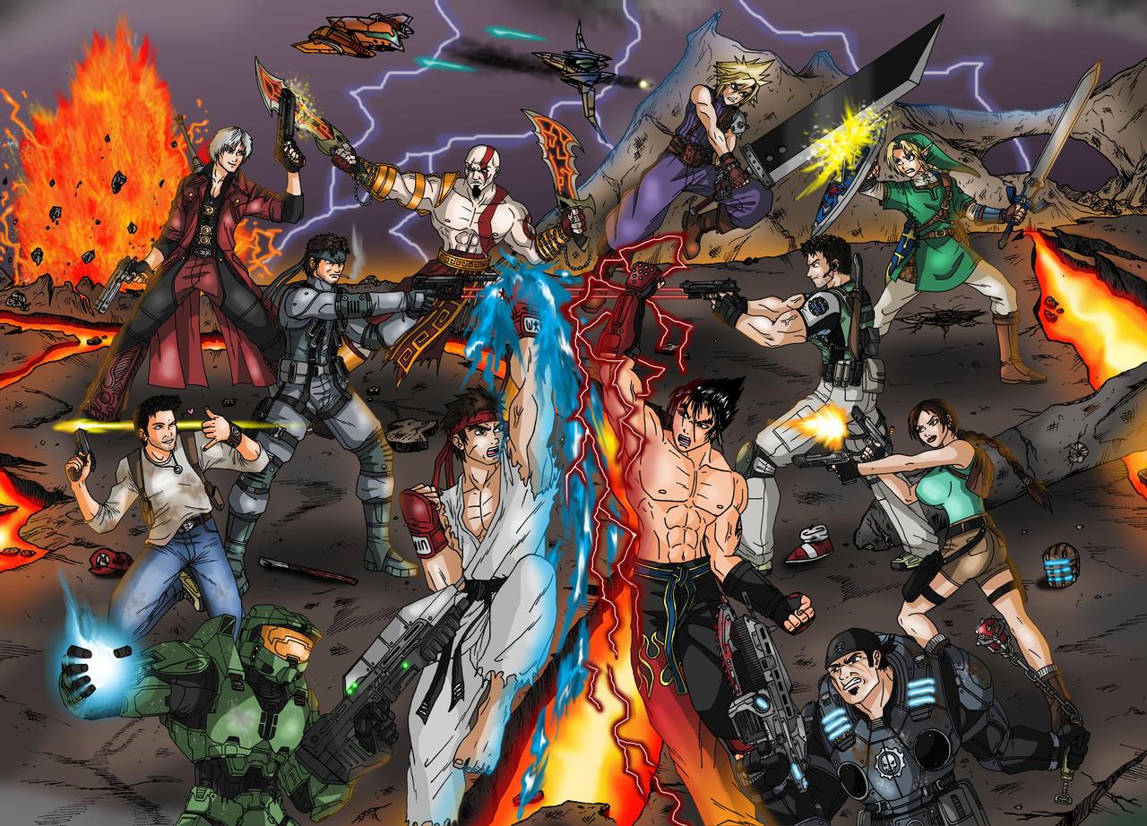 Games Crossover final battle