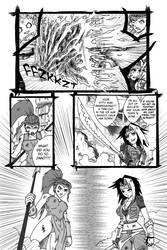 WhytManga round 4 FIGHT page 2 by taresh