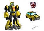 Transformers UK, 2 Bumblebee