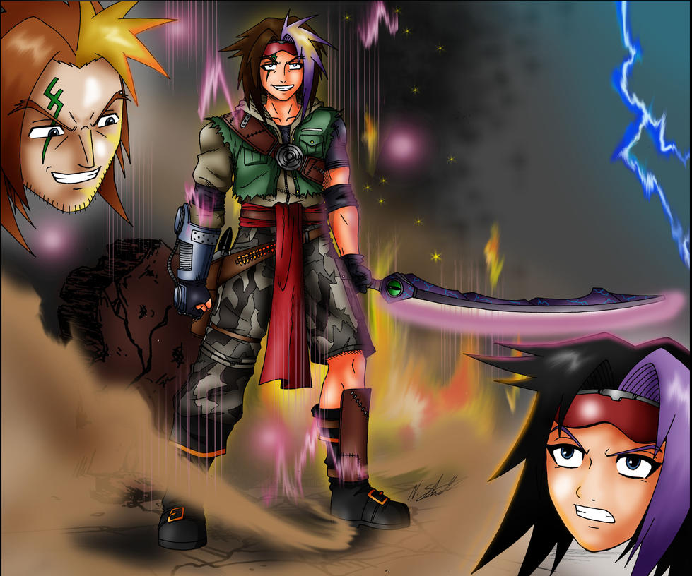 WhytManga tourny 2012 semi final entry (updated) by taresh