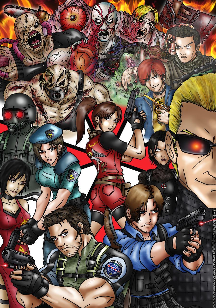 Resident Evil by taresh