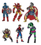 Marvel Redesigns