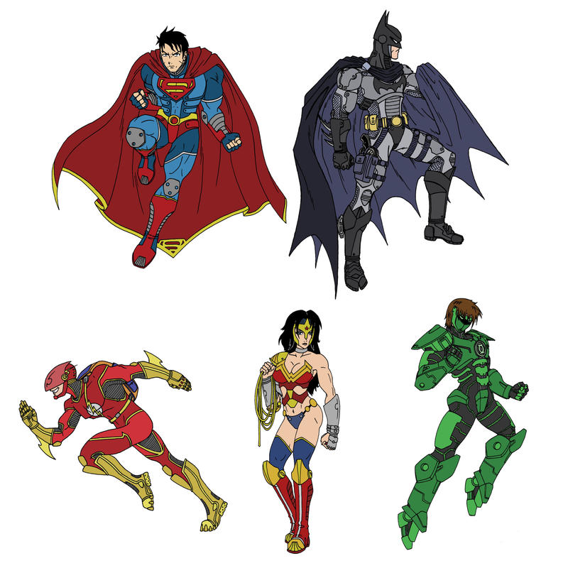 DC Redesigns by taresh